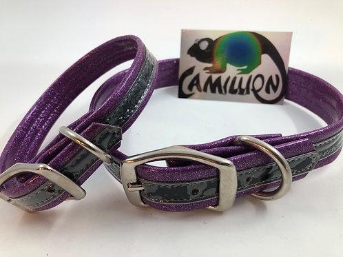 Purple Vinyl Glitter