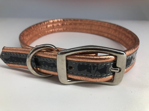 Copper Leather Collar