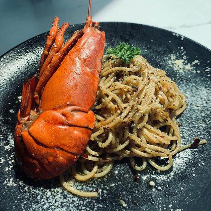 D - Half Lobster with Aglio e Olio