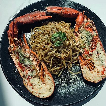A - Full Lobster with Aglio e Olio
