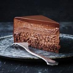 T - Dark Chocolate Mousse Cake (Small)