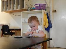 Abby choosing work.JPG
