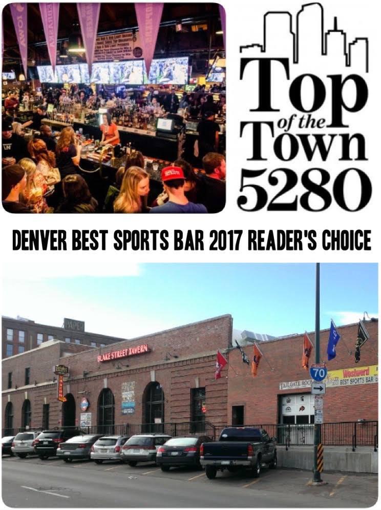 Denvers Best Sports Bar voted by 5280 – Blake Street Tavern