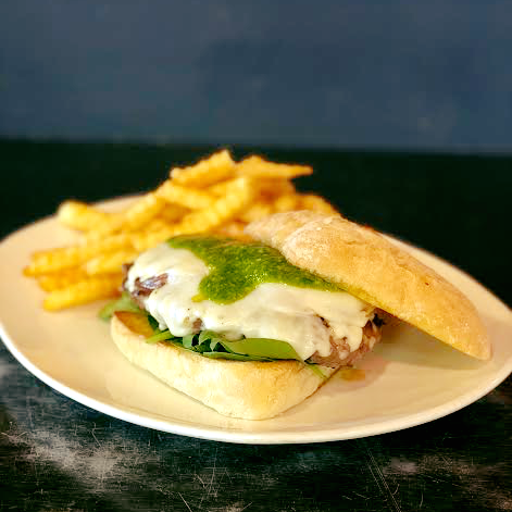 Denver's Best Burger of the Month: The Caprese Burger at Blake Street Tavern