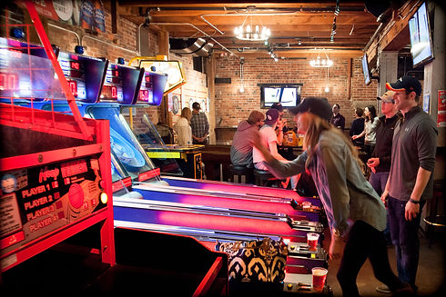 Looking For A Denver Arcade Bar To Host Novel Event Or Just Get Together With Some Buddies And Have Blast The Underground Social At Blake Street