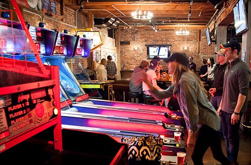 Denver Bar Games - Skeeball at Blake Street Tavern
