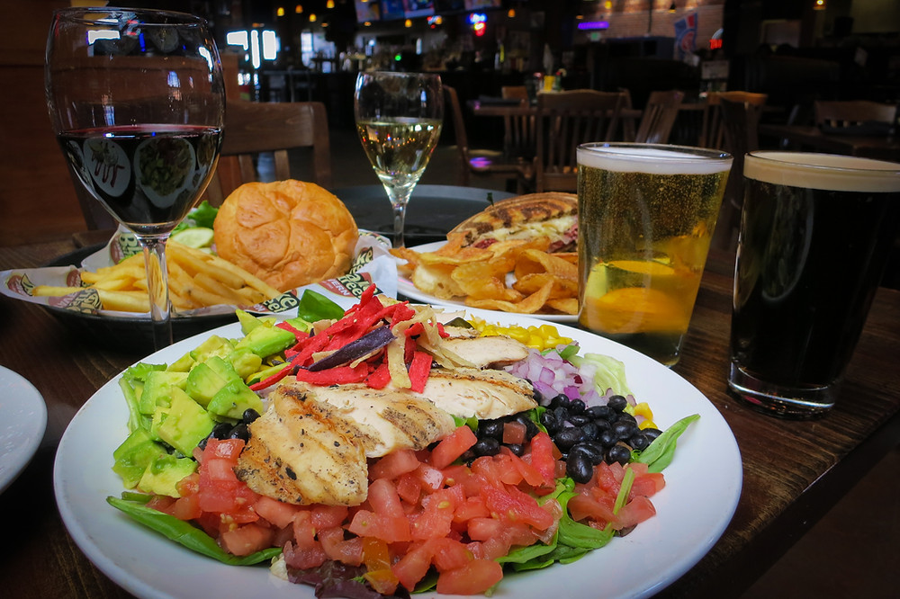 Late Night Food Denver - Blake Street Tavern has amazing salads and a full bar that's open until 1pm!