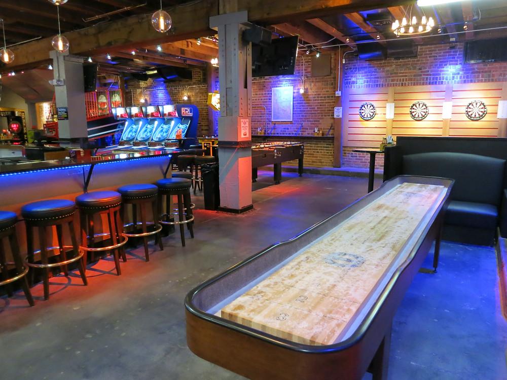 Arcade in Downtown Denver - Blake Street Tavern