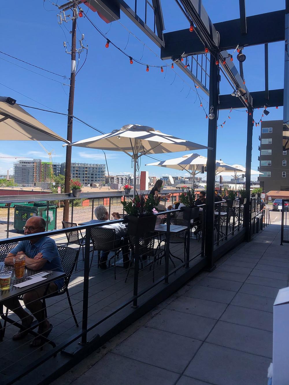 Blake Street Tavern has Denver's Best Patio downtown!