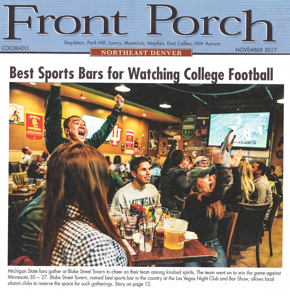 Best Sports Bar for College Football in Denver - Blake Street Tavern