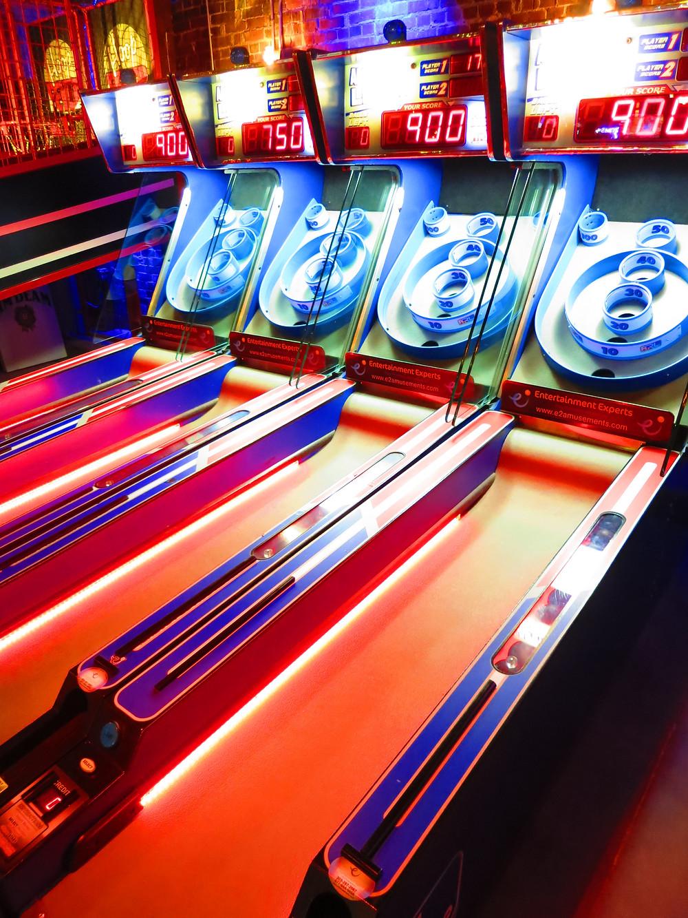 Denver Arcade in a Bar