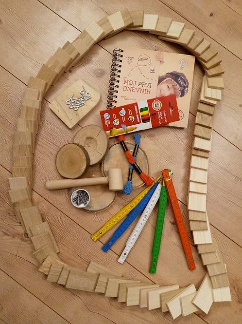 Ustvarjalni paket za male mojstre