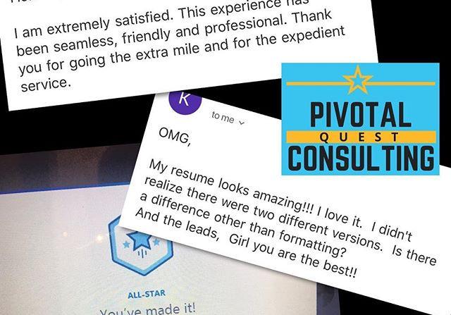 Client Feedback: My clients warm my hear