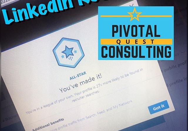 Worked on a LinkedIn Revamp for a client