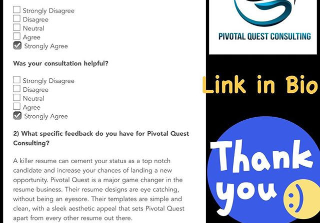 All of my Client Feedback is anonymous,