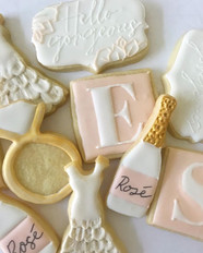 I did a little teaser of this cookie set