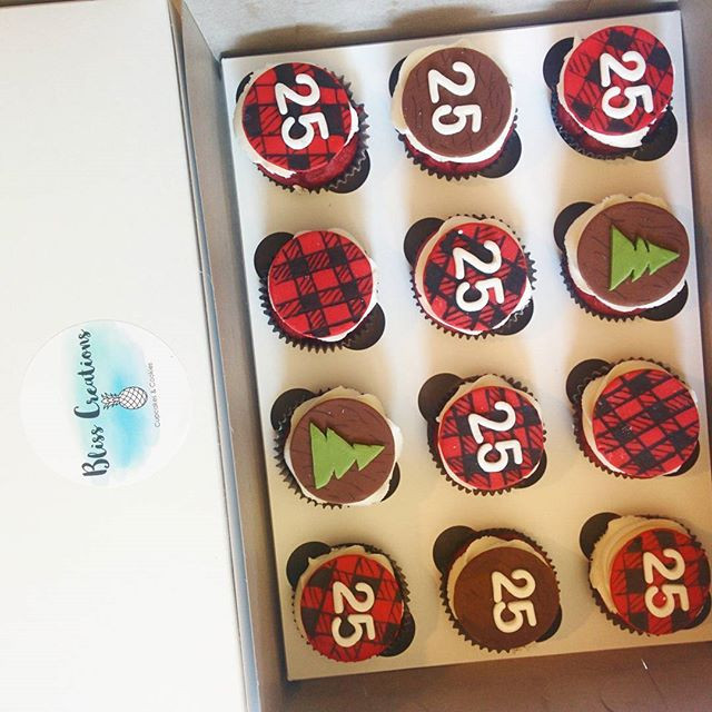 Red Velvet Cupcakes for an axe throwing
