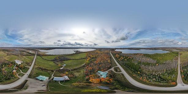 360 aerial image of site