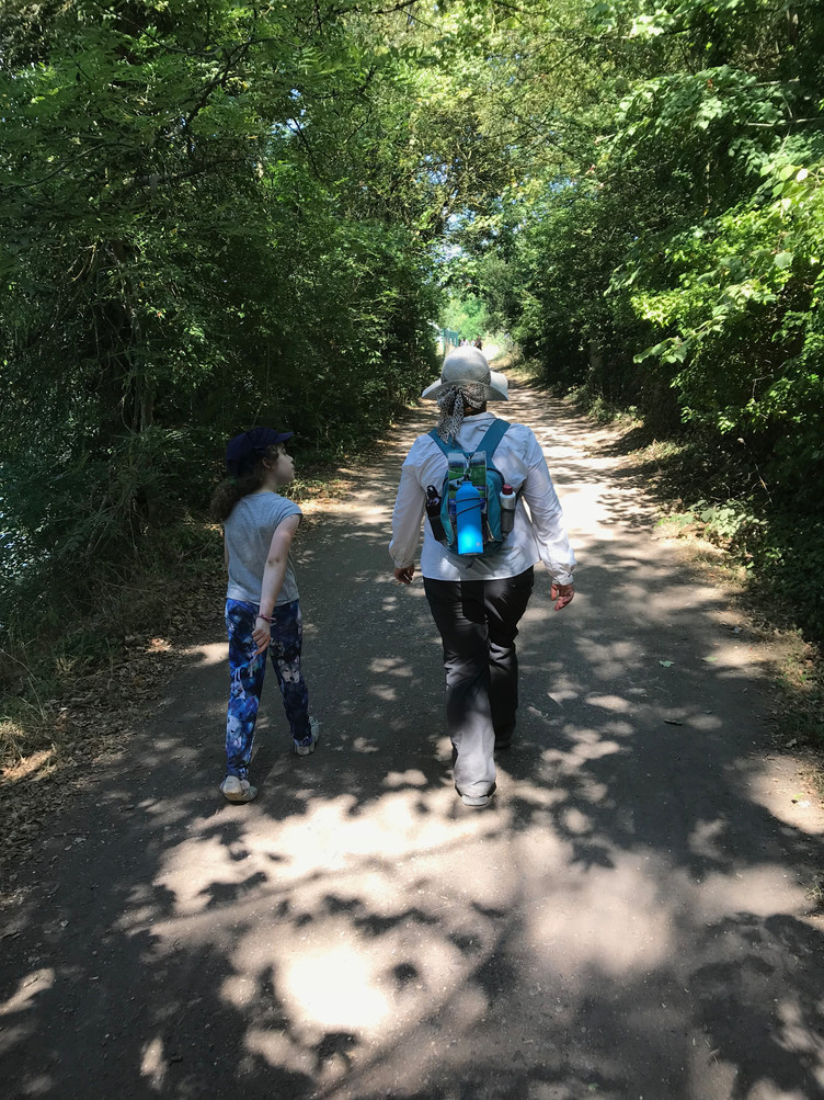 A Walking Holiday with Kids: A Chance to Try Some Emotional Ecology