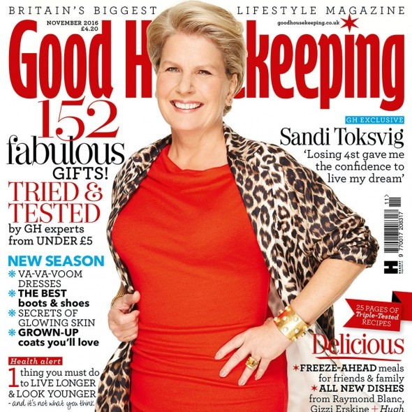 Sandi Toksvig, An impressive woman who also happens to have lost some weight.