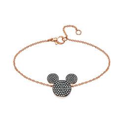 CHEN SAHAR - MyMouse Bracelet in 18k rose gold & black diamonds.jpg