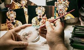 Ye Zhongsan, Ye family in inside painted snuff bottle.