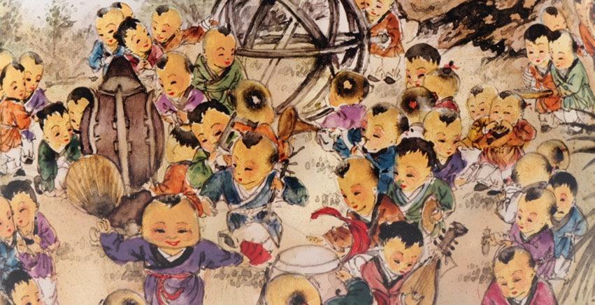 Snuff botte: Hundred Children, by Huang San.jpg