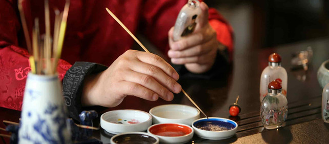 The Art of miniature painting: A novelty of Chinese snuff bottle