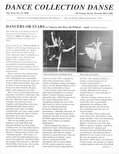 DCD The News - Issue 27, 1992