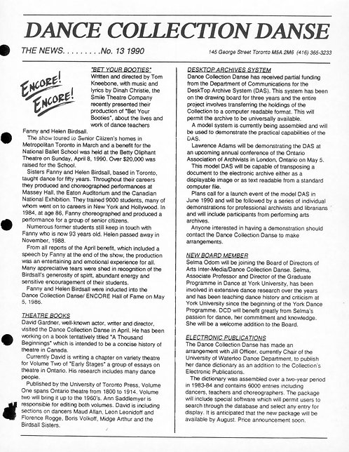 DCD The News - Issue 13, 1990