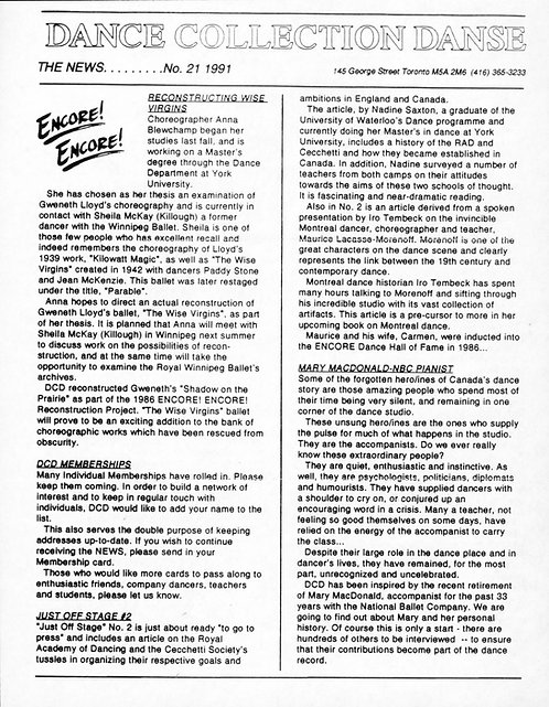 DCD The News - Issue 21, 1991