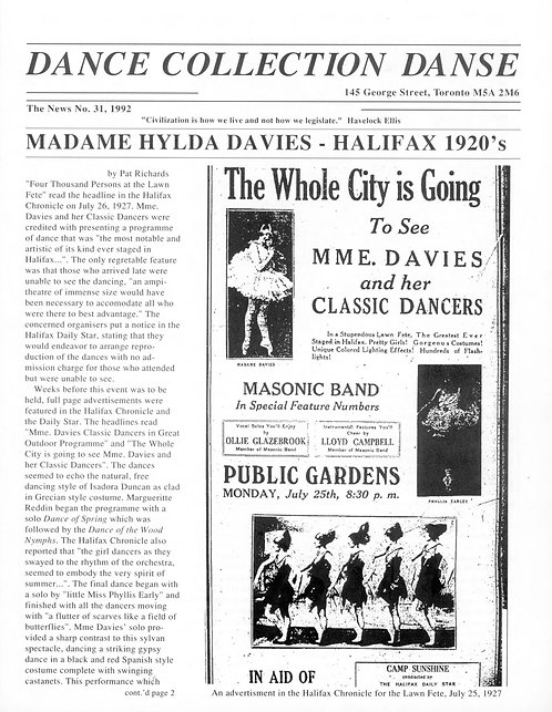 DCD The News - Issue 31, 1992