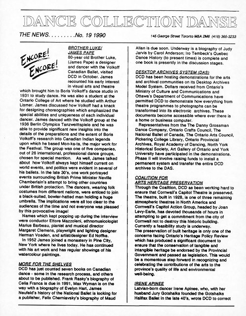 DCD The News - Issue 19, 1990