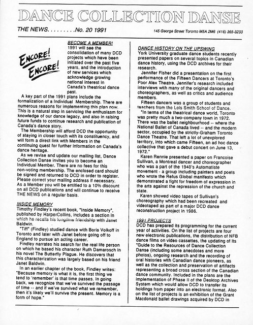 DCD The News - Issue 20, 1991