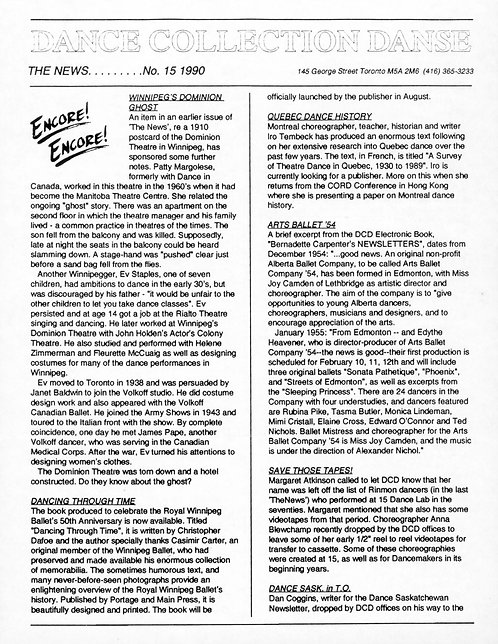 DCD The News - Issue 15, 1990