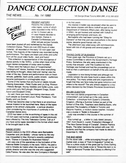DCD The News - Issue 14, 1990