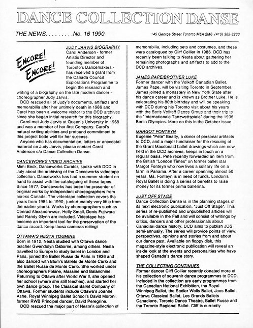 DCD The News - Issue 16, 1990