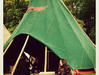 A weekend at the Beltane Fire Festival