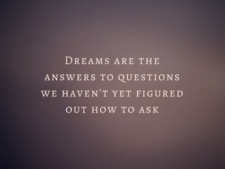 The answer in dreams