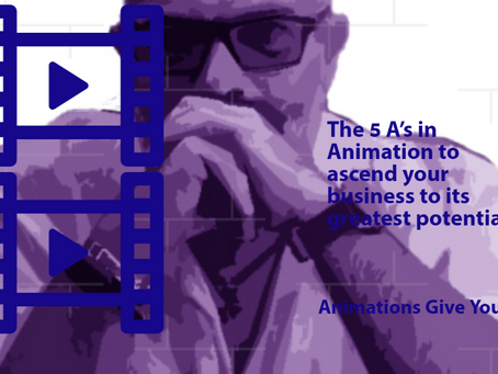 The 5 A's in Animation to ascend your business to its greatest potential..