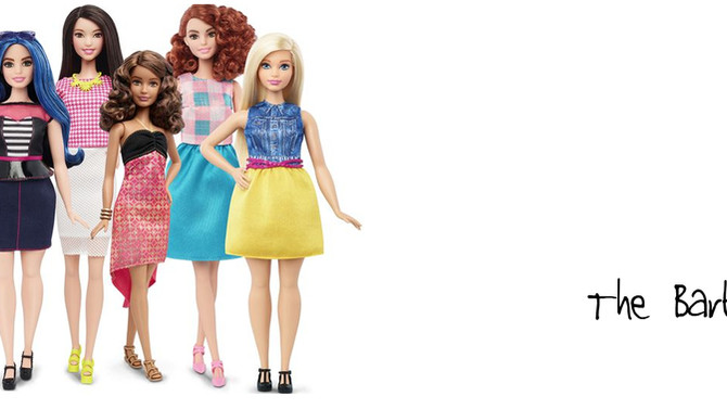 Barbie ... the changing shape