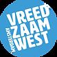 Vreedzaam west Logo
