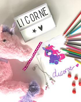 kids and diy licorne