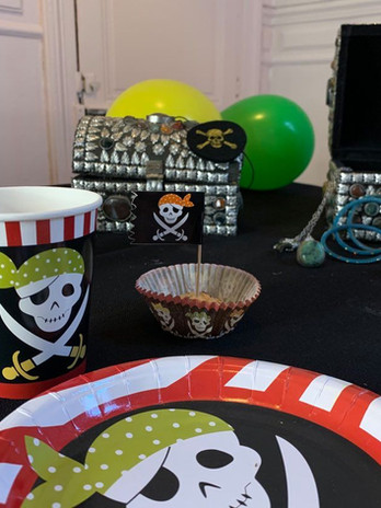Anniversaire Pirate