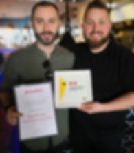 simon morriss, craig edgell, chef simon morriss, margate chef, broadstairs chef, chefs in kent, kent chefs, aa rosettes, hadens margate, good food guide margate, michelin guide margate