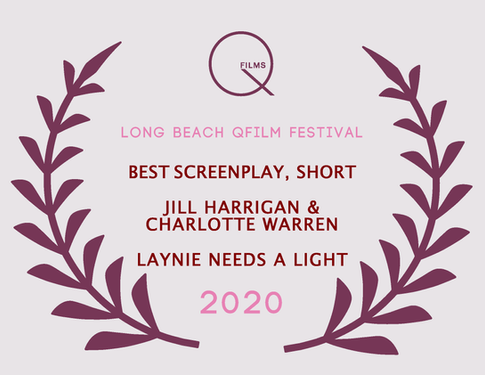Best Screenplay Short Jill Harrigan & Ch