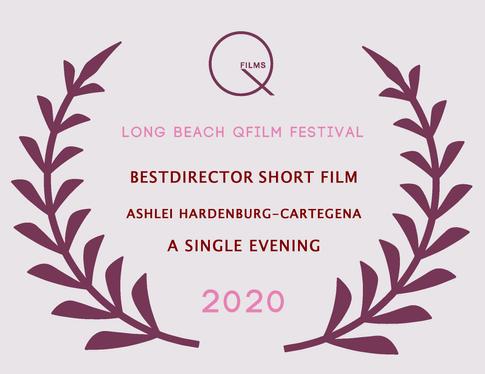 Best Director Short Ashlei Hartenburg-Ca
