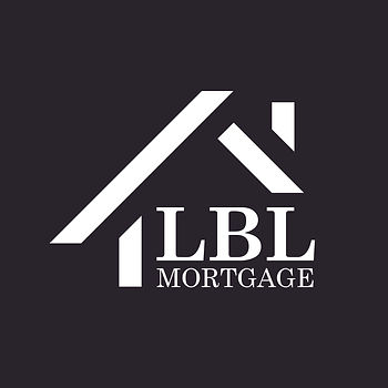 LBL Mortgage Logo - White LBL Logo High
