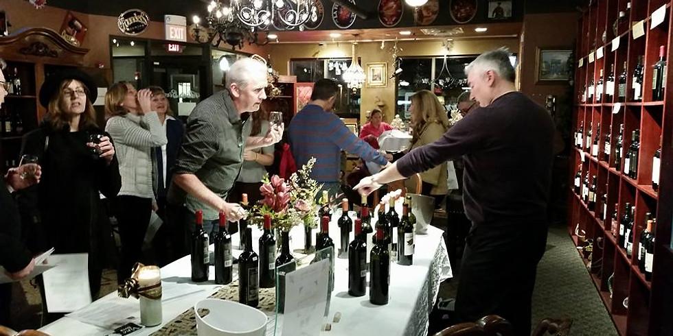 MAR 23, 2018 Wine Education & Etiquette Class, $35 per person
