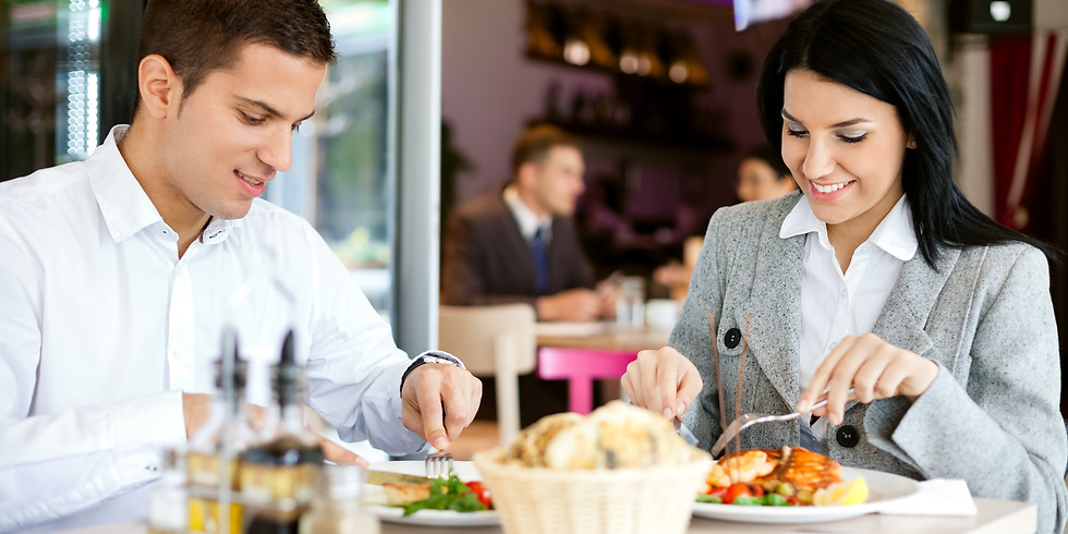 July 27, 2019 from 11:30 - 1:00 pm Adult Art of Dining Etiquette Class, $120 per person